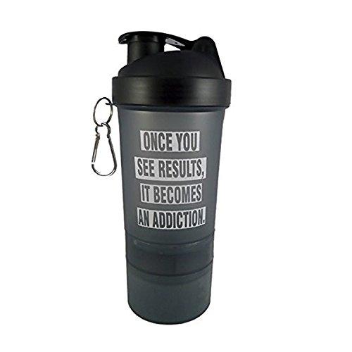 VELLORA Designer Printed Shaker Bottle Protein Shaker | Sipper Bottle | Gym Bottle | Sport Sipper Water Bottle