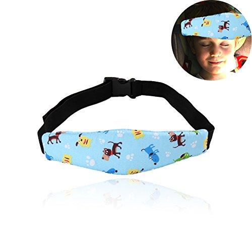 JUNGEN Niños Cinturón de sujeción para Asiento de seguridad de coches, Bebés soporte de la cabeza del cochecito de niño del cochecito de fijación de la correa de seguridad