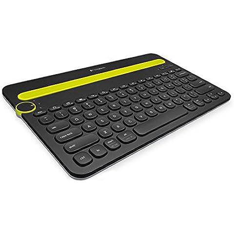 Logitech K480 - Teclado para tablet (Bluetooth), negro
