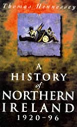 A History of Northern Ireland, 1920-96