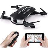 JJR/C H37 Baby Selfie WIFI FPV Drohne mit HD 720P Kamera Live Übertragung faltbare RC Quadcopter mini Drohne mit auto Verschönern Modus, G-Sensor Steuerung & Handy APP