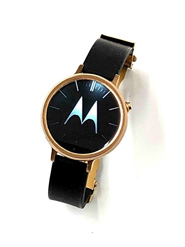 Motorola Moto 360reloj inteligente pulsera Bluetooth resistente al agua–acabado dorado
