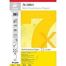 Staufen Multifunktionspapier Druckerpapier  7xColors 25 Blatt DIN A4 160g//qm ROT