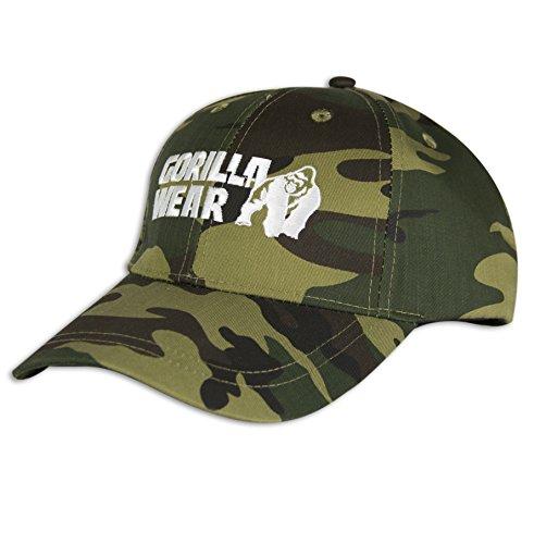 Gorilla Wear Camouflage Cap - Bodybuilding und Fitness Accessoires Herren und Damen