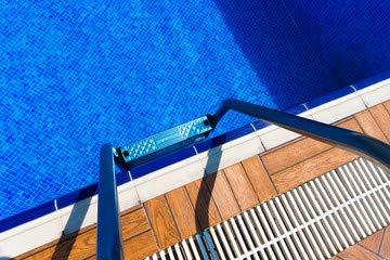 "Poster-Bild 60 x 40 cm: \""swimming pool\"", Bild auf Poster"