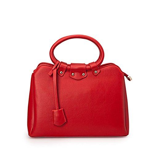 Inverno pendolare semplice borsa/ borsa a tracolla donna tinta/Pacchetto di diagonale-A B