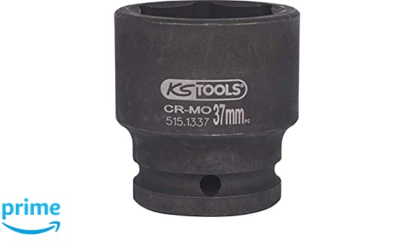 KS Tools 515.1338  Hexagon impact socket 38mm 3//4 short