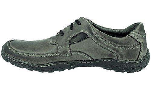 Polbut , Chaussures à lacets homme Gris