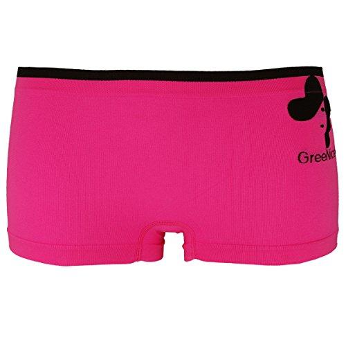 6er Pack GreeNice Damen Panties Boxershorts Slips in sechs Farben Y2801E