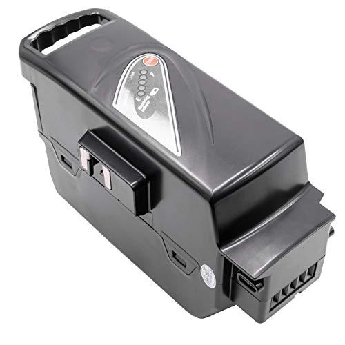 INTENSILO Akku passend für Panasonic Flyer T4, T5, T6, T8, T8 HS, T9 E-Bike Elektrofahrrad (23200mAh, 26V, Li-Ion, schwarz) T9-power-pack