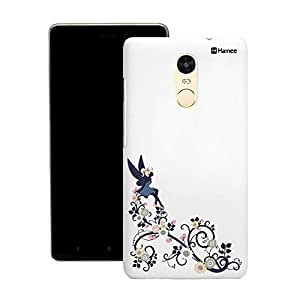 Customizable Hamee Original Designer Cover Thin Fit Crystal Clear Plastic Hard Back Case for Motorola Oneplus 2 / One Plus 2 / Oneplus Two / 1+ 2 (black sitting fairy)