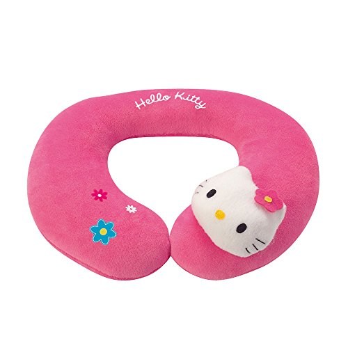 Hello Kitty - Almohada cervical infantil, 22 cm, color rosa (Giros AB021591)