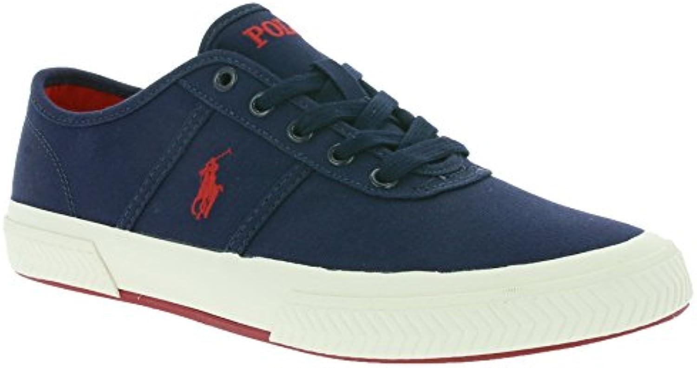 POLO RALPH LAUREN Tyrian Sneaker Canvas blau  Billig und erschwinglich Im Verkauf