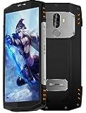 Blackview BV9000 - 5,7 Zoll (18: 9-Verhältnis) IP68 Wasserdicht stoßfest im Freien Android 7.1 Smartphone, Octa Core 2,6 GHz 4 GB + 64 GB, Triple-Kamera, 4180mAh Batterie - Silber