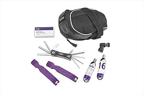 Liv Quick Fix Combo Kit mit Co2-Pumpe, Schwarz violett, CO2
