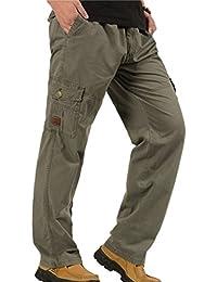 628c08f283c5 Amazon.it  taglie forti uomo - Pantaloni   Uomo  Abbigliamento