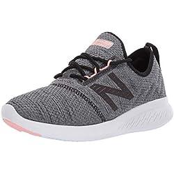 New Balance Fuel Core Coast v4, Zapatillas de Running para Mujer, Negro (Black/Grey/White Peach Rt4), 37 EU