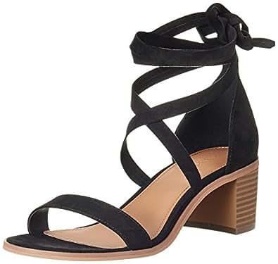 Forever 21 Women's Black Fashion Sandals - 4 UK/India (36 EU) (6 US) (0022978902_00229789023)