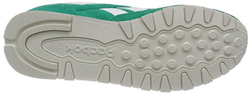 Reebok Cl Leather Suede, Sneakers da donna Turchese (glass green/chalk)