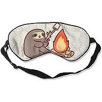 Campfire Sloth 99% Eyeshade Blinders Sleeping Eye Patch Eye Mask Blindfold For Travel Insomnia Meditation preisvergleich bei billige-tabletten.eu