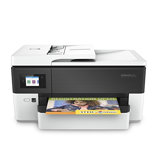 HP OfficeJet Pro 7720 A3-Multifunktionsdrucker (DIN A3, Drucker, Scanner, Kopierer, Fax, WLAN, Duplex, Airprint) weiß -