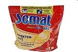 Somat Multi-Gel Spülmaschinentabs Lemon konzentrierte Gel Tabs 2er Pack (2 x 22 Stück)