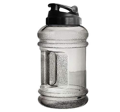 HPADR Wasserflasche 2.2l Große Kapazität Wasserkocher Outdoor Sport Gym Halbe Gallone Training Camping Laufsport Flasche
