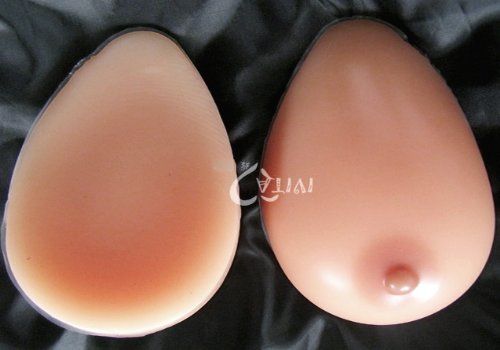 Forever Young Silicone Breast Form Full Boob TV SunTan Colour Cup F