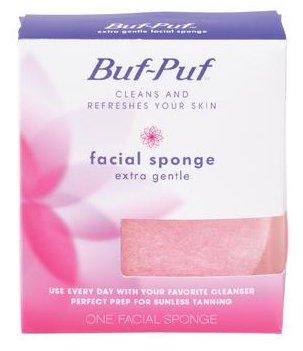 Buf-Puf Eponge universelle réutilisable pour le visage - Texture extra-douce - Peau sensible