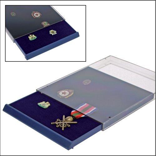 SAFE MÜNZBOX NOVA Nr. 6360 - 1 FACH OHNE UNTERTEILUNG 184 x 232 mm - IDEAL FÜR PIN`S ANSTECKER- BUTTONS - ANSTECKNADELN - Münzenboxen - Münzboxen - Münzelemente