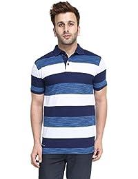 Cayman Multi Stripers Regular Fit Polo T-Shirt