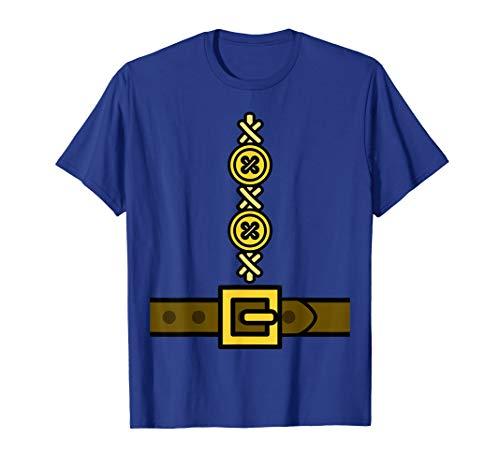 Zwergkostüm T-Shirt - Einfache Last Minute Cosplay Kostüm