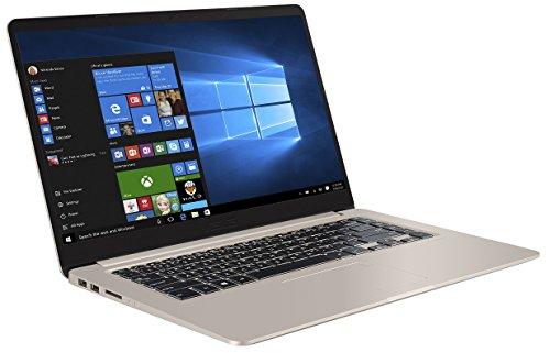 "Asus S510UA-BQ114T Ultrabook 15"" FHD Or (Intel Core i7, 8 Go de RAM,  Disque dur 1 To + SSD 128 Go, Windows 10)"
