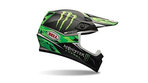 Bell Casco de motocicleta de 9, Adult Casco, color Verde/Negro, talla XXL