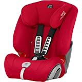 Britax Römer Evolva 123 Plus Autositz, Gruppe 1/2/3 (9-36 kg), Kollektion 2019, fire red