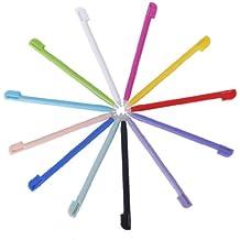 Unbekannt Ersatz 12 Stück Kunststoff Stylus Touchscreen Stift für Nintendo NDSL