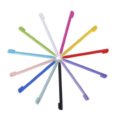 Unbekannt Ersatz 12 Stück Kunststoff Stylus Touchscreen Stift für Nintendo NDSL (Ersatz 3ds-spiel-fall)