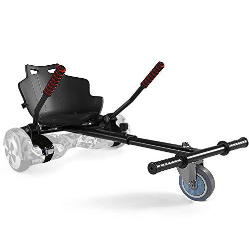 Girosmart Sitzscooter Kart Hoverboard Sitz für Elektrokart Self Balancing Scooter Kompatibel mit 6,5, 8 und 10 Zoll