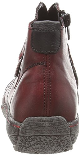 Remonte D3873 Damen Hohe Sneakers Rot (vino/schwarz/wine / 35)