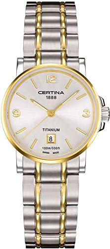 Certina Montre bracelet Femme XS à quartz analogique Titane c017.210.55.037.00