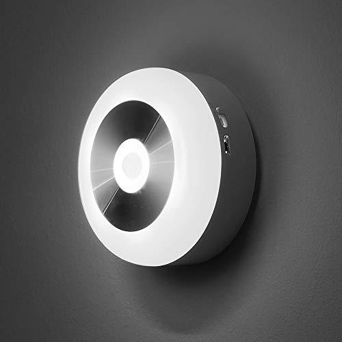 APRITECH® Luce Notturna Lampada Notturna Night Light Automatiche Lampade da Sensore di Luce Impermeabilità Resistente agli Urti Luce Notturna LED Luce LED Batteria, lampadine LED (Luce Bianca)