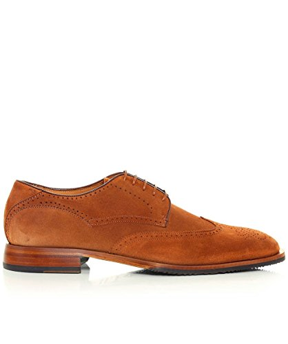 Oliver Sweeney Hommes Cuir Messina Brogues Whisky Whisky
