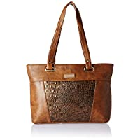 Nelle Harper Women's Shoulder Bag (Dark Brown)