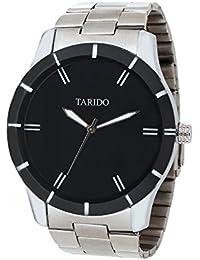 Tarido Styles Black Round Dial Analog Wrist Watch For Men