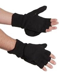 2 En 1: lambswool doigts/faust moufles de style gants thinsulate taille s-xL 4 couleurs-doublé