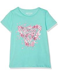 Guess SS T-Shirt, Camiseta de Tirantes para Niñas