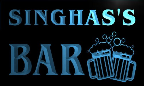 w148042-b-singhas-name-home-bar-pub-beer-mugs-cheers-neon-light-sign