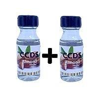 CCDS Liquid Food Essence Almond Flavour 20 ML Set of 2
