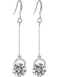 Neoglory Jewellery Swarovski Eléments Or Platine Boucles d'Oreilles Pendantes Bijoux Coffret Femmes …