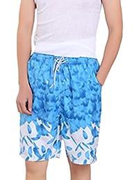 KINDOYO Summer Couple Beach Surfing Corriendo El Pantalones Quick Dry hombres y mujeres Swim Trunks Shorts sgN76